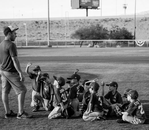 greyscale registration for baseball with coach